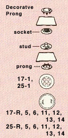 Dritz - No-Sew 4-Part Snaps